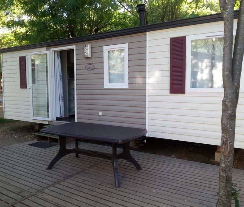 Camping Actinidias Mobile home Evolution 31